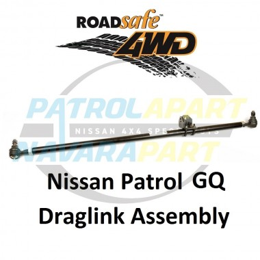 Draglink Steering Arm Heavy Duty Adjustable Suit GQ Nissan Patrol