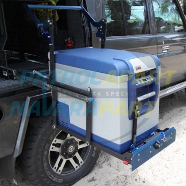 40L MSA Fridge Drop Slide Drops 300mm, Comes with Tie Downs
