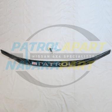 Genuine Nissan Patrol Smoked Bonnet Protector Suit GU4