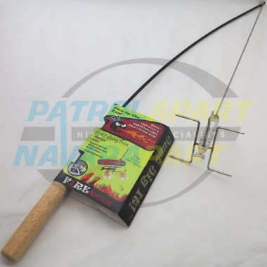 Auspit Fire Fishing Pole