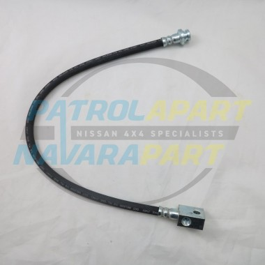 Nissan Patrol GU ABS Rear Brake Hose Chassis To Diff With 3