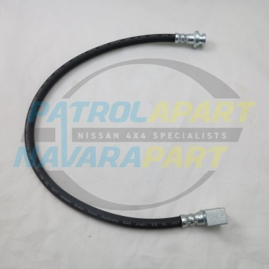 Nissan Patrol GU ABS Front Brake Hose Chassis To Diff Late 3