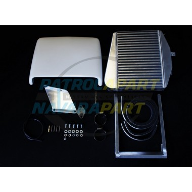 TOYOTA LANDCRUISER HDJ 79 SERIES TOP MOUNT INTERCOOLER KIT