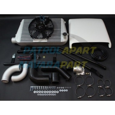 HPD Nissan Patrol GQ TD42 Complete Intercooler Kit 450mm x 300mm