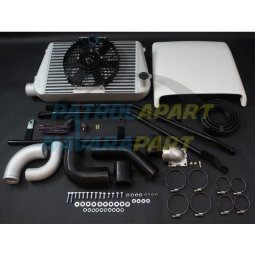 HPD Nissan Patrol GQ TD42 Complete Intercooler Kit 450mm x 300mm