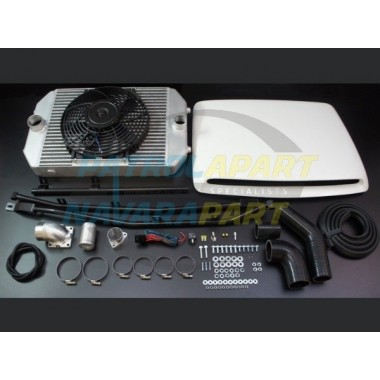 HPD Top Mount Intercooler Kit Nissan Patrol GU TD42 Series 2