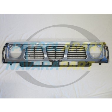 Nissan Patrol Aftermarket Chrome Grille Suit GQ Series 1