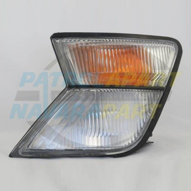 LH Front Corner Light Suit GU Nissan Patrol Series 1 + 2