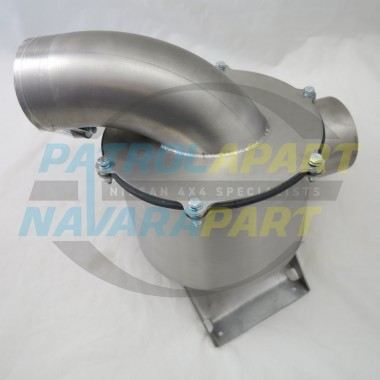 ZD30 Airbox Style Stainless Steel Air Box suit Nissan Patrol GQ GU