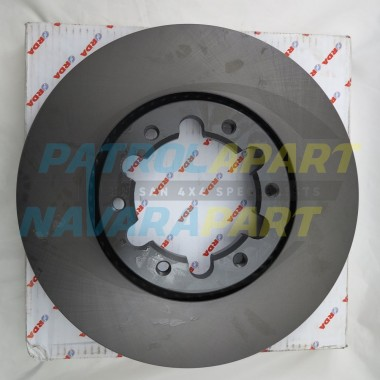 Nissan Patrol GU TB48 Front Brake Disk Rotors SOLD INDIVIDUALLY