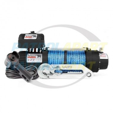 VRS 12500lb Winch and Motor with Synthetic Rope