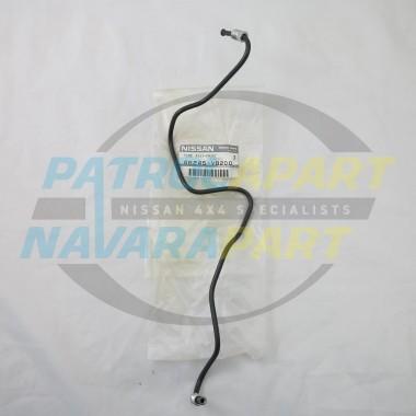 Genuine Nissan Brake Pipe suit GU Non ABS RHF