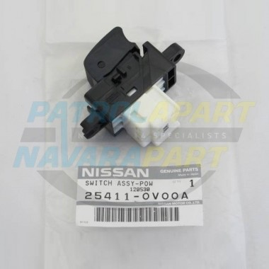 Genuine Nissan Patrol GU Y61 Electric Window Power Switch