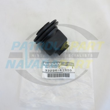 Genuine Nissan Patrol Transfer Lever Upper Rubber Boot GQ