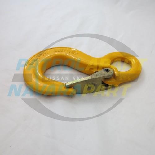 Winch Recovery Hook Small Yellow suit Warn, VRS, Runva