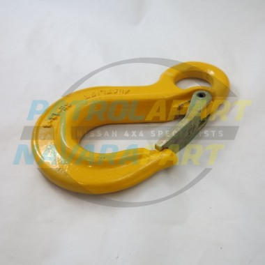 Winch Recovery Hook Large Yellow suit Warn, VRS, Runva, Carbon