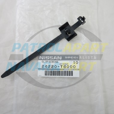 Genuine Nissan Patrol GQ GU Wiring Loom to Chassis Cable Tie