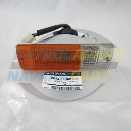 Genuine Nissan Patrol GU Steel BullBar Indicator Light LH
