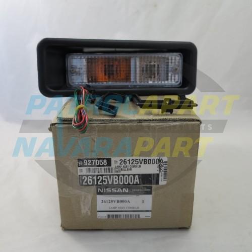 Genuine Nissan Patrol GU Alloy BullBar Indicator Light LH