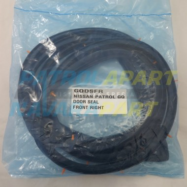 Nissan Patrol GQ Non Genuine Door Seal Right Hand Front RHF