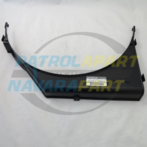 Genuine Nissan Patrol GU TD42Ti Lower Fan Shroud Brow
