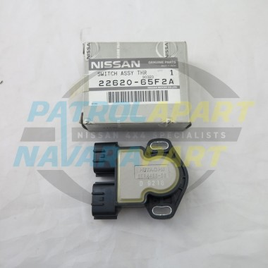 Genuine Nissan Patrol GU Throttle Position Switch TB45 Auto