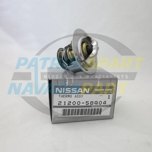 Genuine Nissan Patrol GU GQ Thermostat Suit All TD42 Motors 76.5 Degree