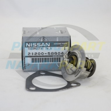 Genuine Nissan Patrol Thermostat GQ GU TD42 with Gasket