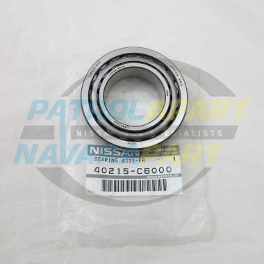 Genuine Nissan Patrol GQ GU Front Outer Small Wheel Bearing