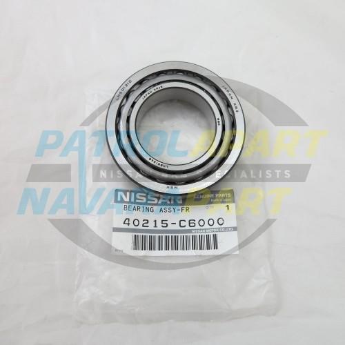 Genuine Nissan Patrol GQ GU Front Outer Small Wheel Bearing