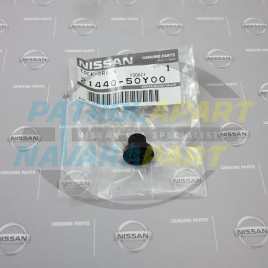 Genuine Nissan Patrol GU Radiator Drain Tap Screw Cap