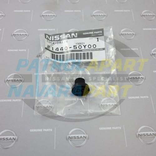 Genuine Nissan Patrol GU Radiator Drain Tap Screw Cap
