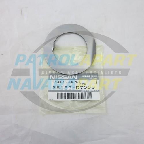Genuine Nissan Patrol GQ Rear Drum / Disc Hub Lock Tab