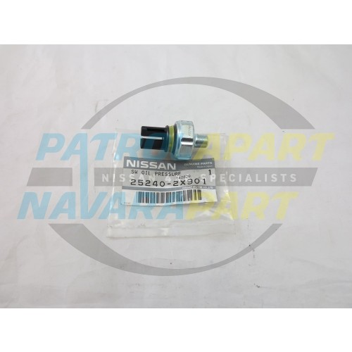 Genuine Nissan Patrol GU ZD30 Drivers Oil Pressure Switch 25psi on