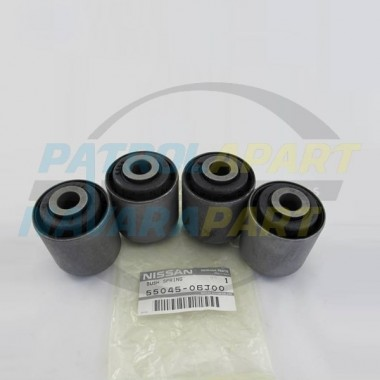 Nissan Patrol GQ GU Genuine Rear Trailing Arm Bush Set of 4