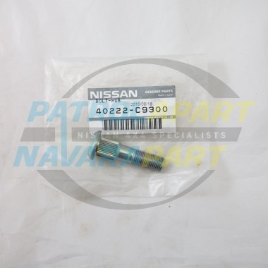 Genuine Nissan Patrol GQ GU Wheel Stud Drum Brake Rear End