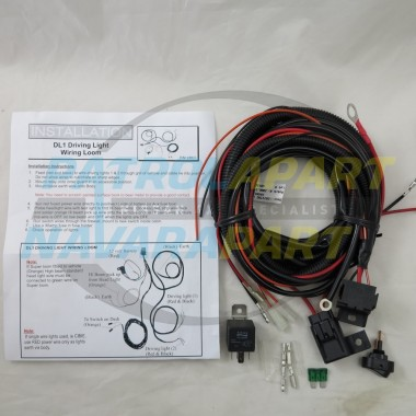 Premium Quality Upgrade Spot Light / Driving Lights Wiring Loom