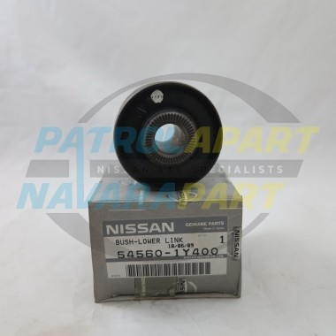 Genuine Nissan Patrol GU Ute 1-2 with Leaf Rear Radius Arm Bush