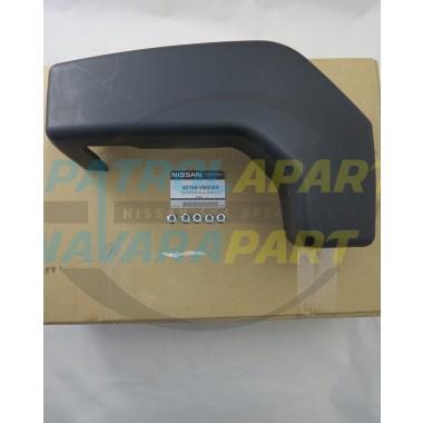 Genuine Nissan Patrol GU Steel Bull Bar Bumperette Kit LHS