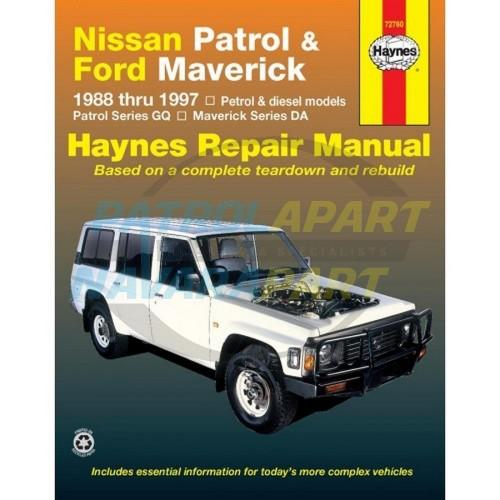 Details about Haynes Nissan Patrol Y60 GQ Repair Manual Petrol & Diesel  (72760)