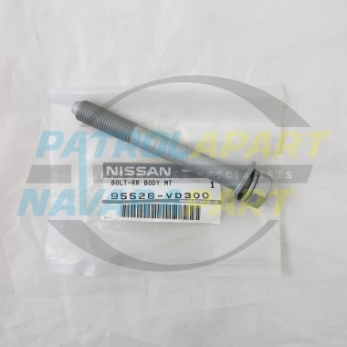 Genuine Nissan Patrol BodyMount Bolt GU Row 2 and 4