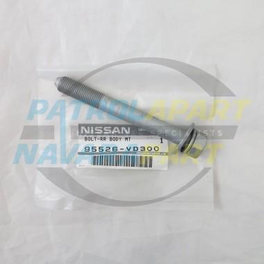 Genuine Nissan Patrol BodyMount Bolt GU Row 2 and 4