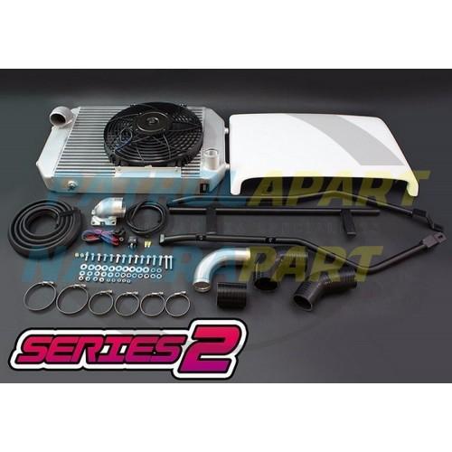 HPD Nissan Patrol GQ TD42 Intercooler Kit Series 2 500mm x