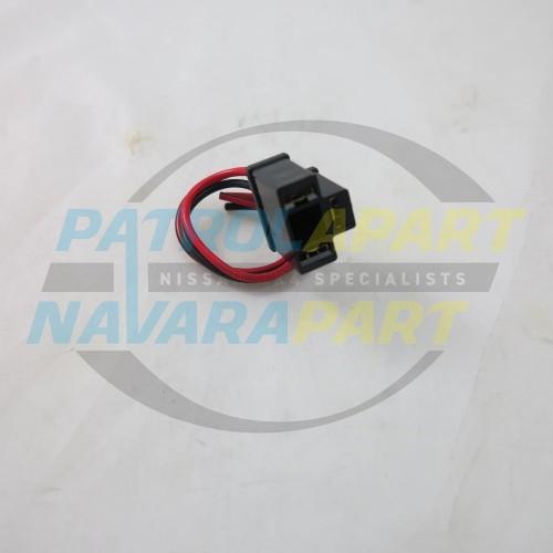 Nissan Patrol GQ GU Headlight Socket 3 pin Replacement on