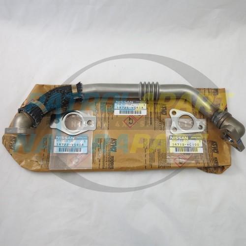 Genuine Nissan Patrol GU ZD30CR EGR Pipe & Gaskets