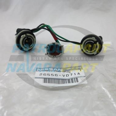 Genuine Nissan GU Y61 Rear Bumper Tail Light Loom Harness L or R
