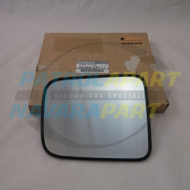 Genuine Nissan Patrol Mirror Glass GU 1-3 RH Electric Mirror
