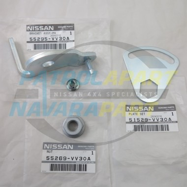 Genuine Nissan Patrol Front Panhard Rod Locking Plate Assem