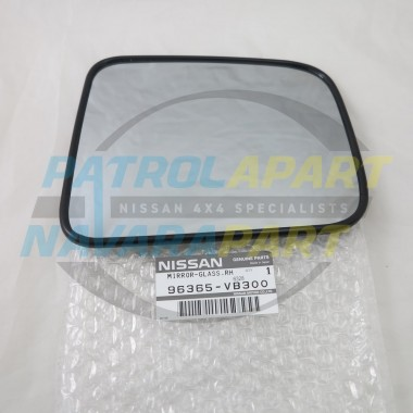 Genuine Nissan Patrol GU Series 4 After 08-2013 RH Mirror Glass