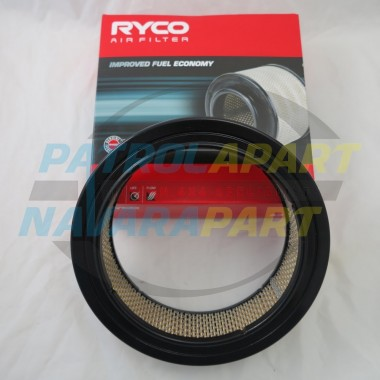 Nissan Patrol GQ Ryco Air Filter Suit TB42s Carby on LPG